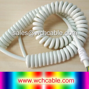 125V TPU Spiral Cable
