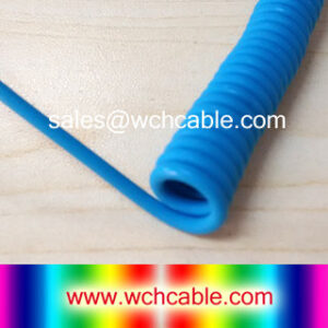 150V TPU Spiral Cable