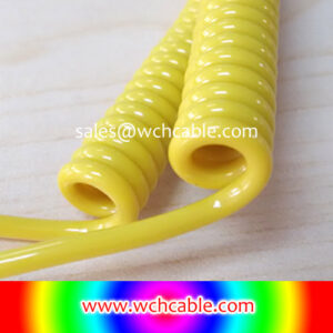 30V TPU Curly Cable