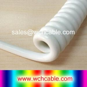 Polyurethane TPU Spiral Cable